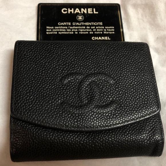 697714fd5bc8 CHANEL Handbags - Chanel Compact Wallet Used
